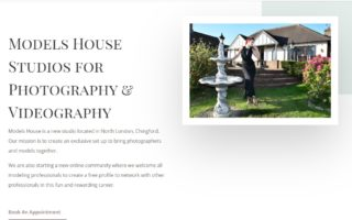 Models House – Website